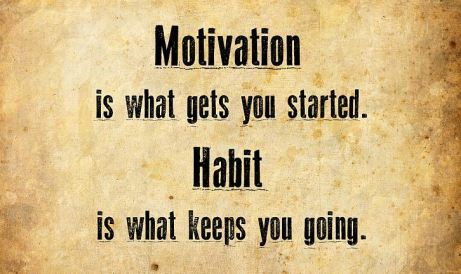 Motivation is what